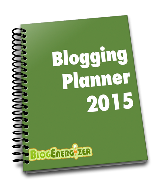 blogging planner print version